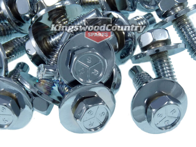 Holden Panel Bolt Chrome x20 Set Early Holden HD HR HK HT HG fender guard
