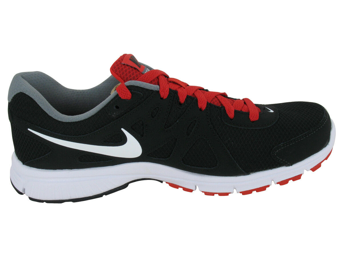 Nuevo Nike Hombre Revolution 2 Negro/Rojo/Blanco Correr Atléticos Atléticos Correr Zapatos EE. UU. 0341fb