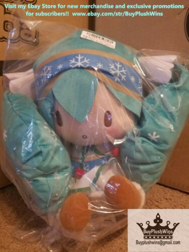 Hatsune Miku Snow Ver 2015 Medium Size Plush! 1 Entry for Mystery Giveaway!