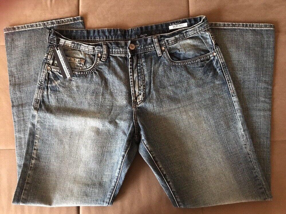 BUFFALO David Bitton King Basic Slim Boot Jeans Size 3832