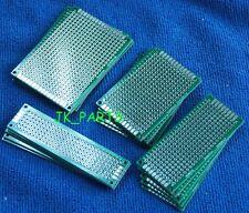 40pcs Double Side Protoboard Circuit Prototype Diy Pcb Board 2x8 3x7 4x6 5x7cm