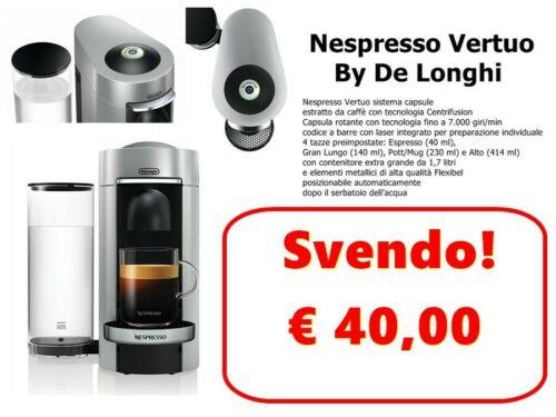 Attenzione USA SOLO CAPSULE VERTUO DeLonghi ENV 155.S Nespresso DIVERSE!