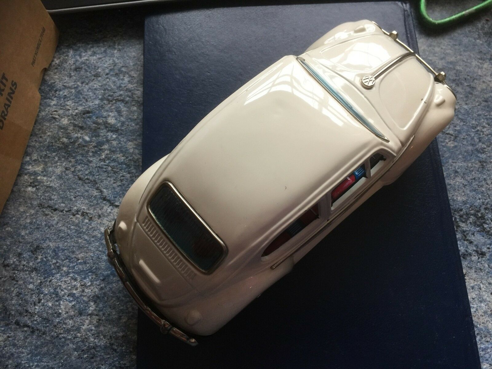 TAIYO VW COMBINATION BEETLE NON-FALL W BUMP 'N GO. IN ORIGINAL BOX