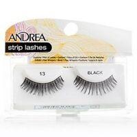 6 Pairs Andrea Modlash 13 False Eyelashes Strip Lashes Black 31310