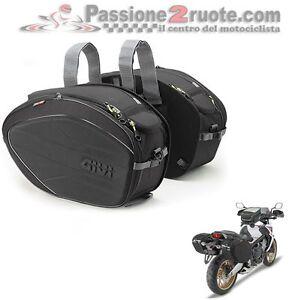 512222dbf2 Caricamento dell'immagine in corso Borse-valigie-laterali-morbide -moto-scooter-GIVI-ea100b-