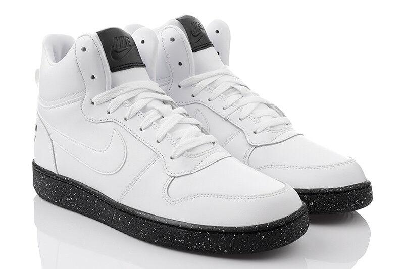Zapatos de mujer baratos zapatos de mujer Nike Court Borough Medio Se Zapatillas de deporte Hombre High-top 916759-100