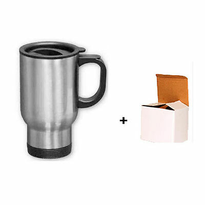 14oz STAINLESS STEEL TRAVEL SUBLIMATION MUG FOR SUBLIMATION HEAT PRESS PRINTING