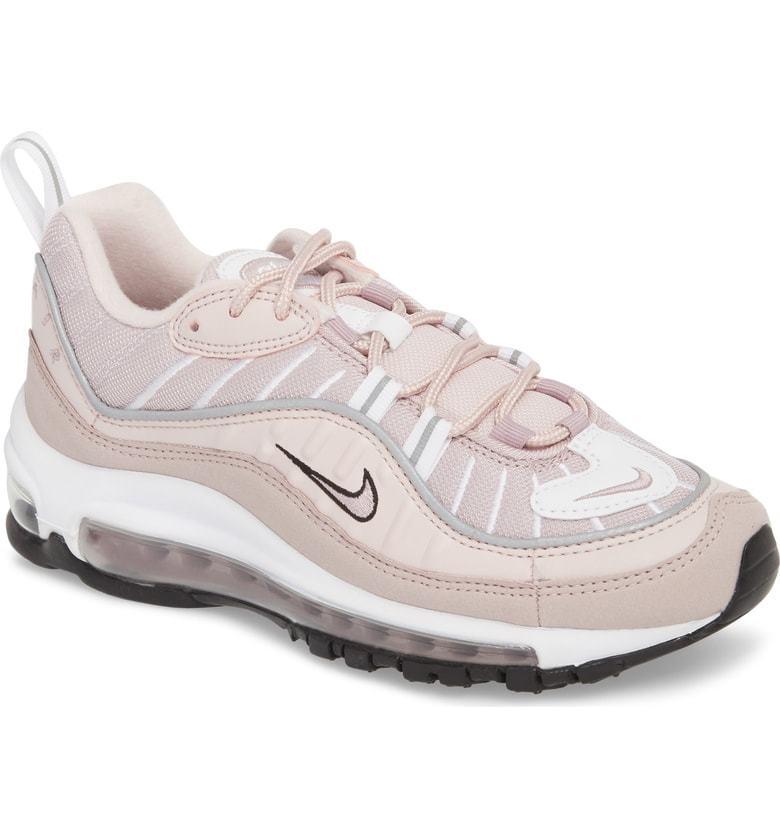 NIB Women Nike Air Max 98 Pink Barely Rose Elemental (AH6799-600)