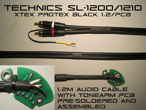 Technics SL12001210 Audio Phono RCA Cable With Tonearm PCB ProteX Black 12m - <span itemprop='availableAtOrFrom'>Budleigh Salterton, Devon, United Kingdom</span> - Returns accepted Most purchases from business sellers are protected by the Consumer Contract Regulations 2013 which give you the right to cancel the purchase within 14 d - Budleigh Salterton, Devon, United Kingdom