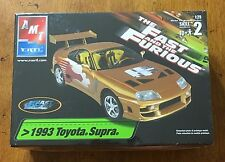 AMT ERTL 1993 Toyota Supra fast and furious 1:25 model scale kit SEALED New