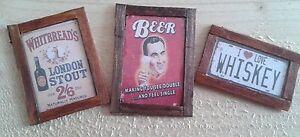 Dolls House Pub Publicités Lot De 3-afficher Le Titre D'origine