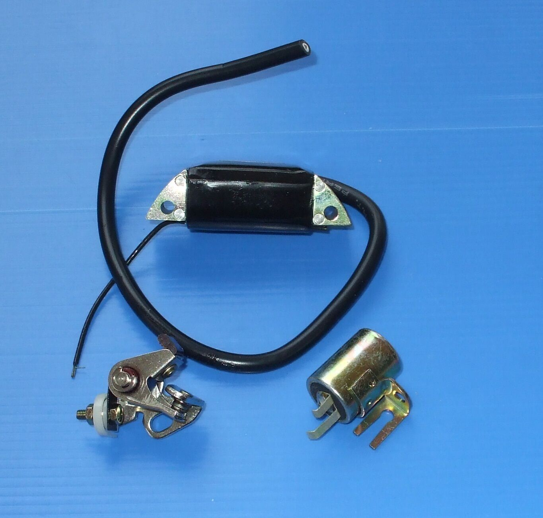 Rupteur Condensateur Bobine d'allumage pour KAWASAKI ISEKI KAAZ KT18 KT30