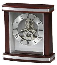 (New!) TEMPLETON Quartz Skeleton Desk Table Mantel Clock Howard Miller 645-673