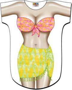 ac35e4c2fed50 Tropical Girl Hawaii Bikini Swimsuit Cover Up Tee T-Shirt Cruise ...