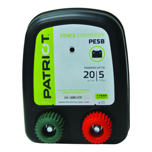0.20 Joule for electric fence PE5B Battery Energizer Patriot