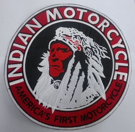 Indian Motorcycle 10 inch America/'s First patch Nice New