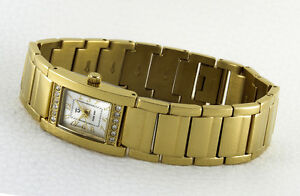 Elegant-Women-039-s-Watch-Rectangular-Attractive-Design-MIT12-Simili-Stones