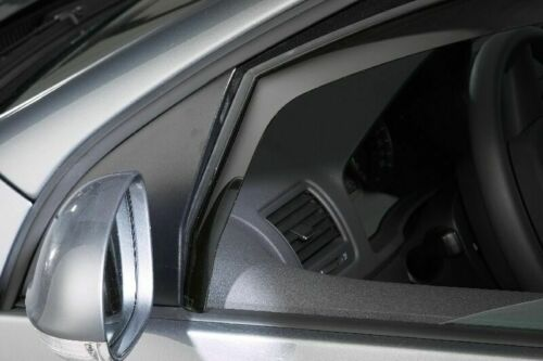 Rauchgrau 4Set Climair Windabweiser Opel Grandland X Typ Z SUV 5 Türer ab 2017