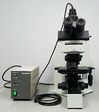 Olympus Bx60f5 Fluorescence Microscope