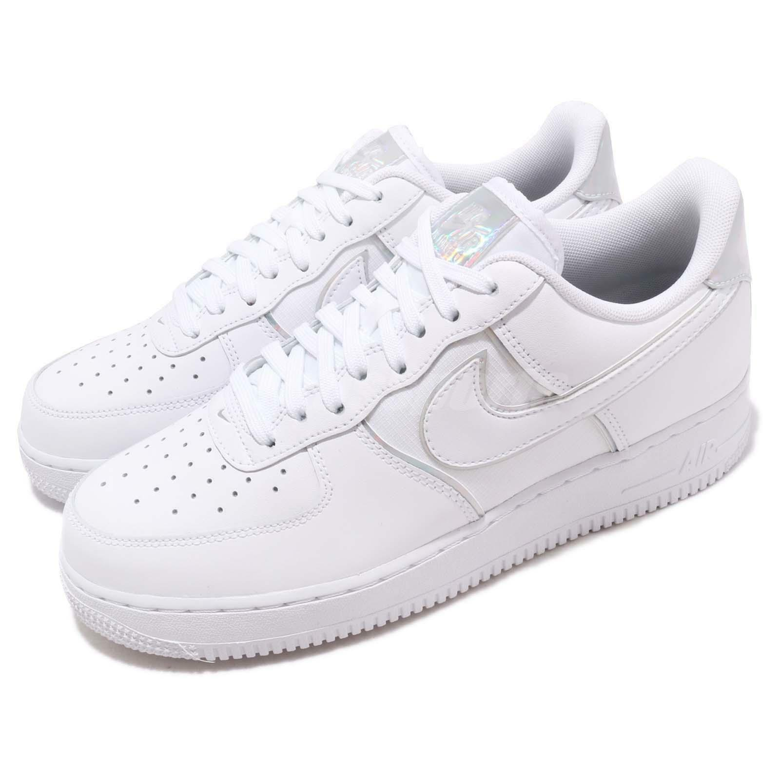Nike Nike Nike Air Force 1 07 LV8 4 bianca Iridescent Men Casual scarpe scarpe da ginnastica AT6147-100 | Outlet Store  c612b8