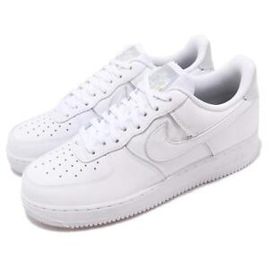 b711e34835 Nike Air Force 1 07 LV8 4 White Iridescent Men Casual Shoes Sneakers ...