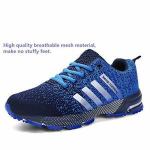 Hommes-Baskets-garder-Chaussures-De-Course-Femmes-Outdoor-Sport-Athletic-Unisexe-Chaussures-5-5-12