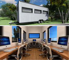 Tiny Home Office L196 X W72 Or L26 X W72 Professionally Built Trailer