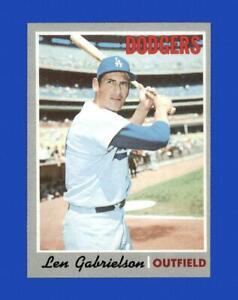 1970-Topps-Set-Break-204-Len-Gabrielson-NR-MINT-GMCARDS