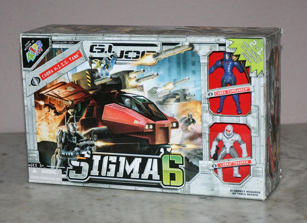 G.I. Joe  SIGMA 6-COBRA H.I. S.S. SERBATOIO NRFB MISB