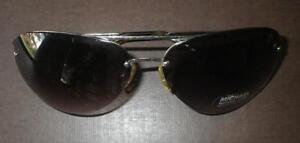 133b78f2cb Image is loading Authentic-Michael-Kors-Aviator-Sunglasses-M2001S-717-Shiny-