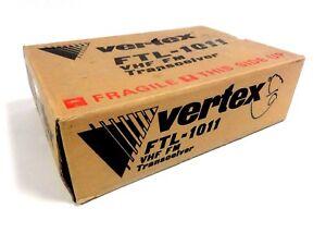 Vertex FTL-1011 VHF FM 12 Channel Type B Transceiver