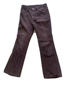 Vintage-1970-s-Brown-Lee-s-Cords-Corduroys-Seventies