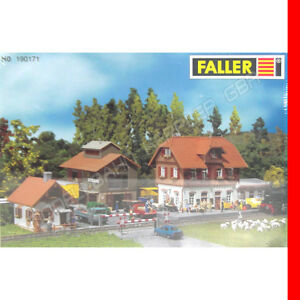 Faller-H0-190171-Bahnhof-Set