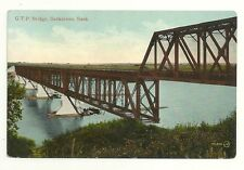 GTP Steel Bridge Saskatoon Saskatchewan Canada Grand Trunk Pacific Railway