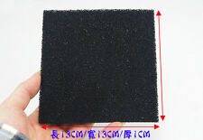 3x Square Activated Carbon Air Filter Sponge Foam Pad for 491 493 Smoke Absorber