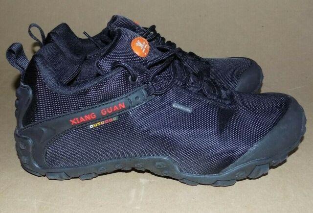 78f4b5a07b39 XIANG GUAN Outdoor Men s Low-Top Water Resistant Trekking Hiking Shoes Sz 9