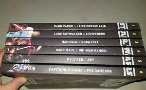 Bd comics Star Wars Histoire galactique tome 1 à 6 état Neuf