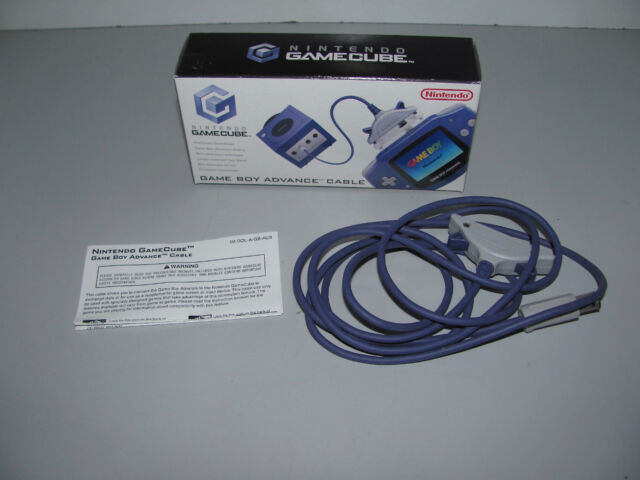 Game Boy Advance Cable For Nintendo Gamecube Near Mint As New & Complete