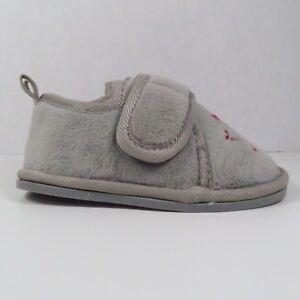 Koala Kids Gray Bedroom Shoes In Size 3/4 (Toddler) | eBay