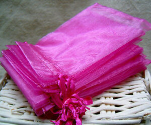 20-x-Wedding-Favours-Organza-Pouch-Gift-Bags-10cmx12cm