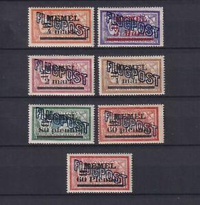 LITHUANIA, MEMEL 1921, Mi#40-46, CV280€, MNH