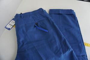 JOOP! Herren Men Business chino Hose Freizeithose Gr.50 Übergroße L30 blau NEU