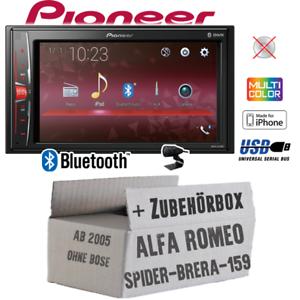 Pioneer radio para Alfa Romeo 159 Spider Brera Bluetooth 2din mp3 USB kit de integracion