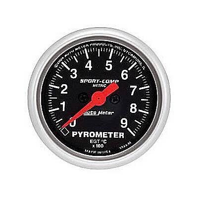 AU3344M  AutoMeter Sport-Comp Analog Gauge Pyrometer 2 1/16 in