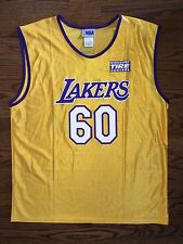 Size XL Men's NBA Discount Tire Los Angeles Lakers 60th Anniversary Jersey