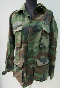 US army military winter weight bdu woodland small long NEW W//TAGS blouse top GI