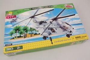 Cobi-2365-Set-Batiments-Heavy-Transport-Helicoptere-310pz-modelisme