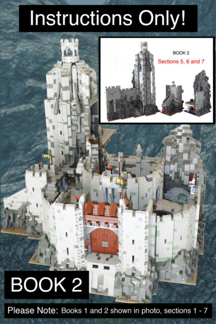 Custom Lord Of The Rings Helms Deep Book 5 Ult Build Lego