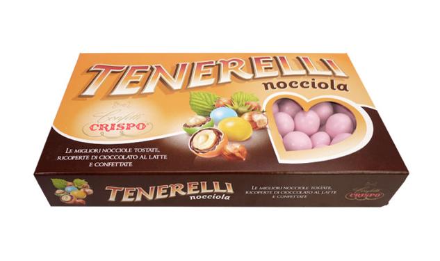 CONFETTI TENERELLI NOCCIOLA ROSA 1KG