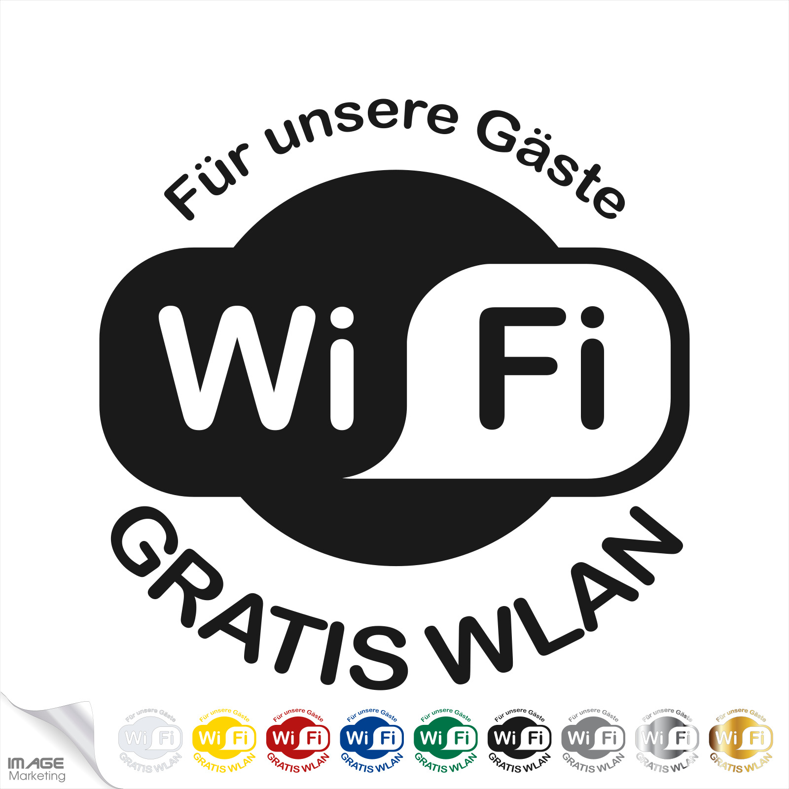 Details Zu Gratis Wlan Aufkleber Sticker Free Wifi Schaufenster Cafe Bistro Shop Bar Hotel